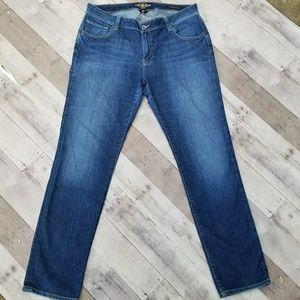 Lucky Brand Ginger Ginger Straight Leg Jeans